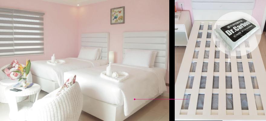 全室JIKITAN-Bedを採用